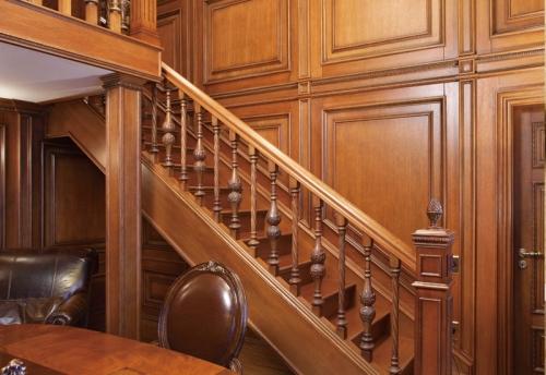 实木楼梯的油漆工艺决定质感和美感