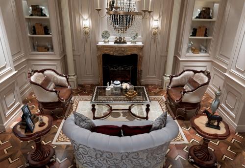 欧式客厅的装修设计方法是什么呢