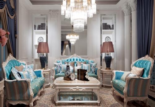 为欧式客厅颜值加分,选好沙发有妙招!