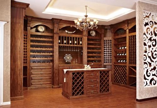 上海木质酒柜