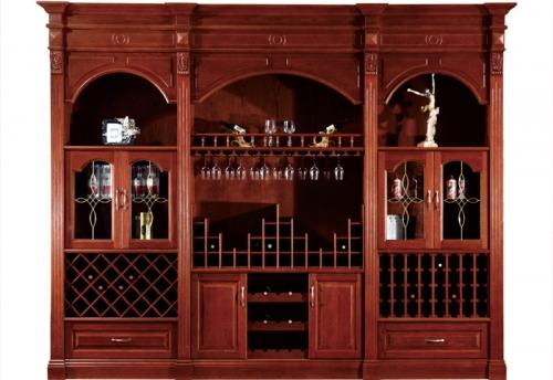 上海原木酒柜
