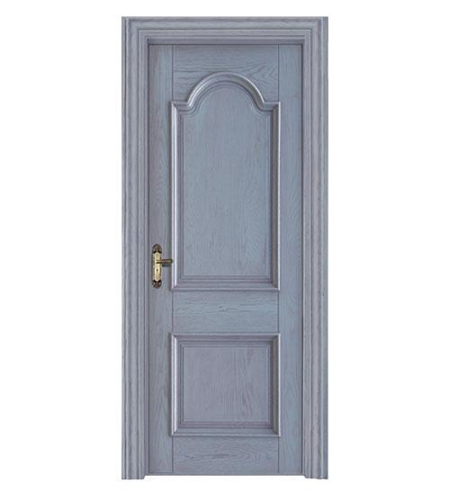 淡蓝时尚套色门