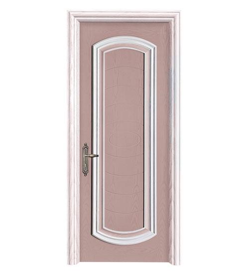 桃粉时尚套色门