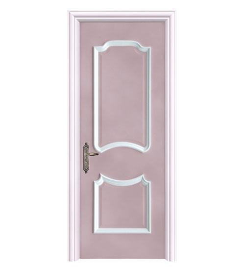浅粉时尚套色门