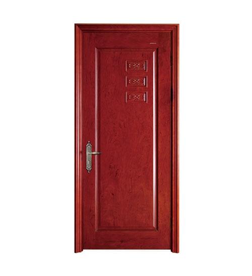 上海简约深红烤漆门